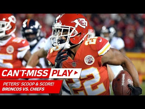 Marcus Peters Scoops & Scores Off Jamaal Charles