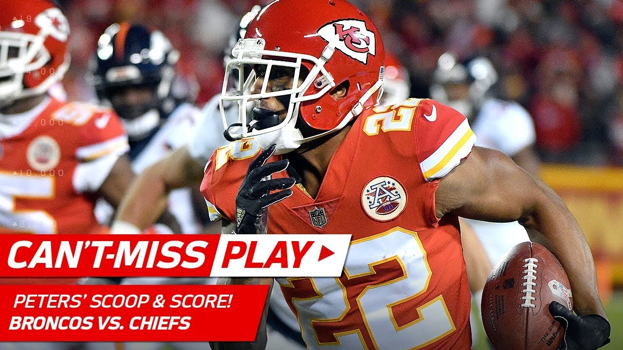 Marcus Peters Scoops & Scores f Jamaal Charles Fumble