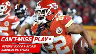 Marcus Peters Scoops & Scores Off Jamaal Charles' Fumble! | Can't-Miss Play | NFL Wk 8 Highlights