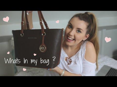 What's in my bag? | Megan Clark