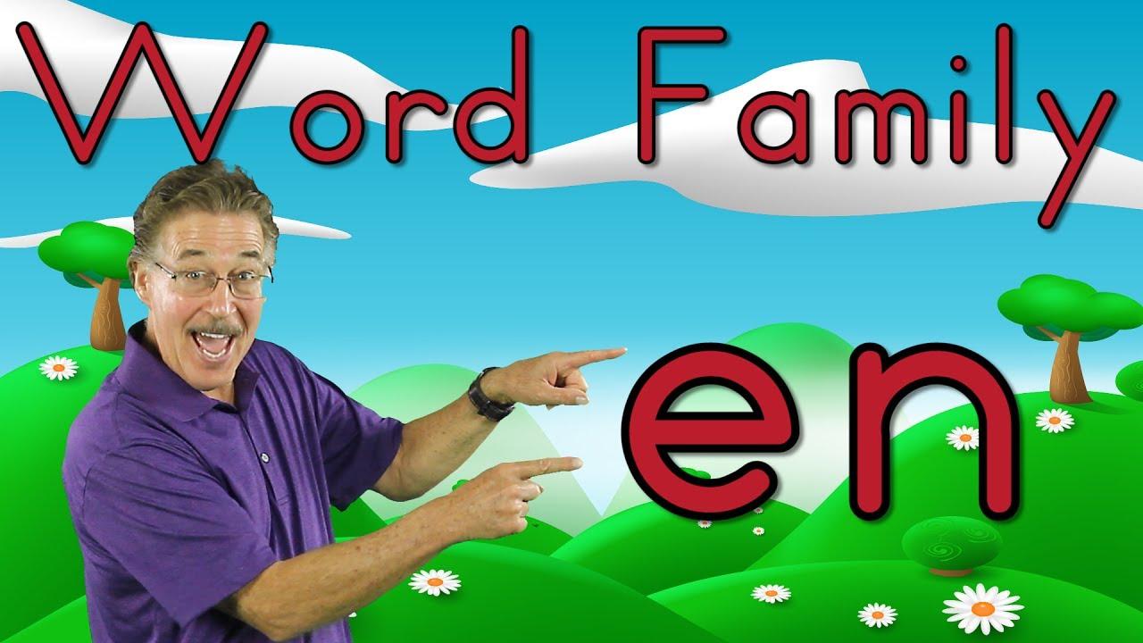 Download Word Family -en | Phonics Song for Kids | Jack Hartmann