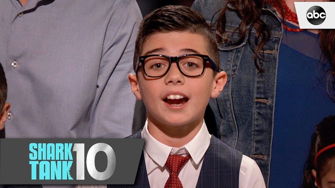 Kid Entrepreneur Challenges Kevin - Shark Tank