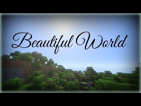 ♪ Beautiful World | Minecraft Song | Lyrics