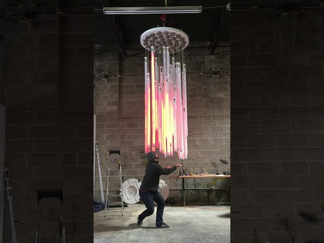 Testing the Flux Chandelier