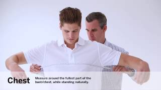 TUS Measuring your chest:waist men