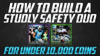 """MUT 25"": How to Get Studly Safeties on a 10K or less budget in Madden 25 Ultimate Team"