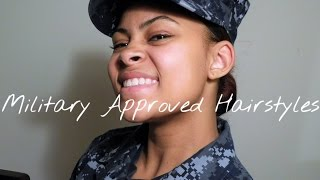 Acceptable NAVY Hairstyles | #bunlife