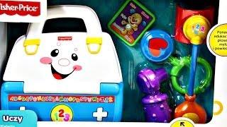 Little Doctor Set / Zestaw Małego Lekarza - Fisher-Price - CCK35 - Recenzja(Szczegóły na stronie: http://www.kocham-zabawki.pl Ten zestaw to doskonałe połączenie radosnej zabawy i edukacji! Zabawka zachwyca uroczymi dźwiękami i ..., 2014-06-29T16:00:05.000Z)