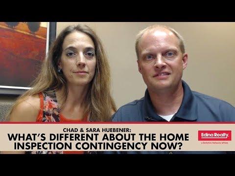 Chad & Sara Huebener With Edina Realty: The New Minnesota Inspection Contingency
