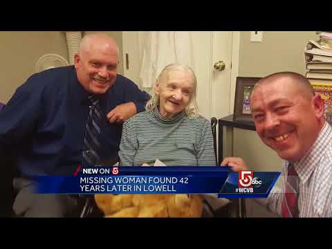 Woman missing for 42 years found in Lowell