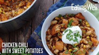 Chicken Chili with Sweet Potatoes