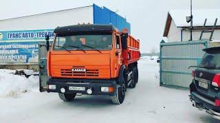 Обкатка и подъем кузова КамАЗа 55102 после капитального ремонта!