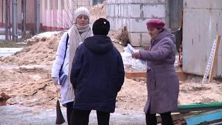 Последствия пожара на улице Нелидова