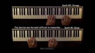 How to Play the Synth Parts of Jump by Van Halen