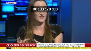 "Sky News Kate Smurthwaite ""Don't touch me please"""
