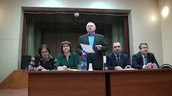 Выступление депутата Козельской городской Думы на сходе жителей