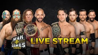 WWE NXT TakeOver: War Games - Live Stream & Reactions