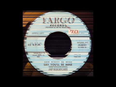 AQUATONES - SAY YOU'LL BE MINE / SO FINE - FARGO 1002 - 8/58