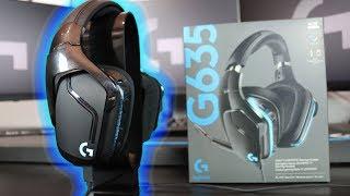 Logitech G635 Wired 7.1 LIGHTSYNC Gaming headset