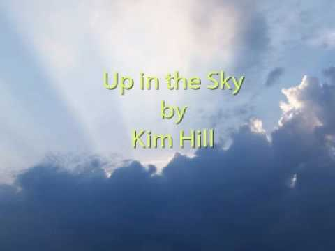 Kim Hill up in the sky