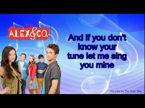 karaoke music speaks alex co the team teen youtube