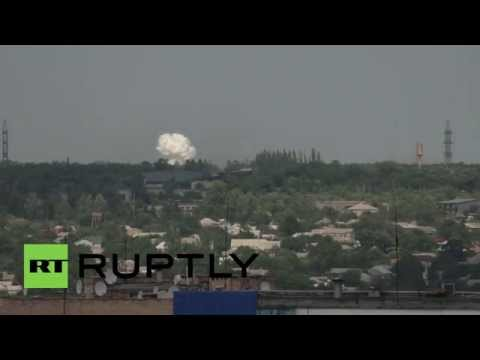 Ukraine: Calm in Lugansk shattered by military shelling