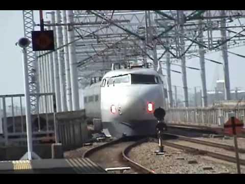 Tren Bala Japones Shinkansen 500 -  Estacion Nishi Akashi