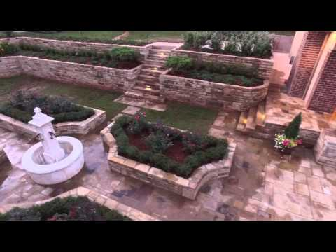 Caviness Landscape Design-Formal Pool And Garden Design In Oklahoma City