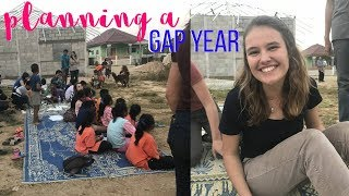 HOW TO PLAN A TRAVEL GAP YEAR | convincing your parents, program etc.