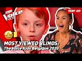 TOP 10 | MOST VIEWED Blind Auditions of 2020: Belgique 🇧🇪 | The Voice Kids