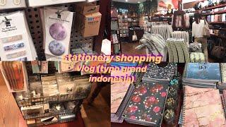 📓🌱stationery shopping vlog || typo grand indonesia -indonesia-🇮🇩