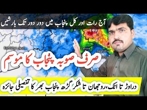 20 April Punjab Weather Forecast | Heavy Rain Expected | Punjab Ka Mosam | South Punjab Weather