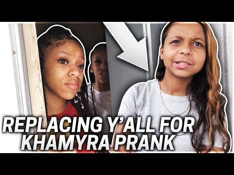 REPLACING MY TWIN SISTERS WITH KHAMYRA PRANK!!! (THEY GOT SO MAD)
