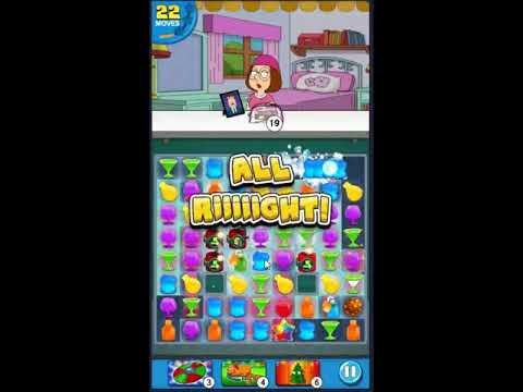 Family Guy Another Freakin Mobile Game Level 555 - NO BOOSTERS