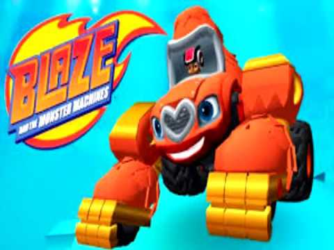 Nick Jr. - Obstacle Course Gorilla - Blaze and the Monster Machines