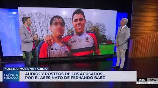 Filtraron un audio de uno de los acusados por el crimen de Fernando Báez