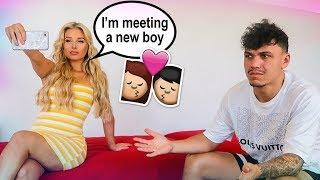 Making My Boyfriend Jealous PRANK! (HE GOT MAD & LEFT)