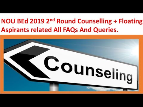 bihar-b.ed-cet-2019-2nd-round-counselling-all-faqs-and-facts|nou-bed-2nd-counselling-all-procedures.
