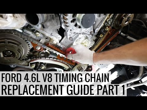 How to Replace the Timing Chain 4.6L Ford V8 PT 1 -  Project Mullet Mustang - EP04