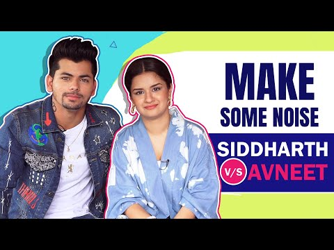 Download Make Some Noise Ft. Avneet Kaur V/S Siddharth Nigam   India Forums