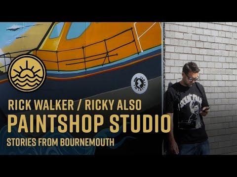 Paintshop Studio Graffiti and Graphic Design - Bournemouth - LWV005