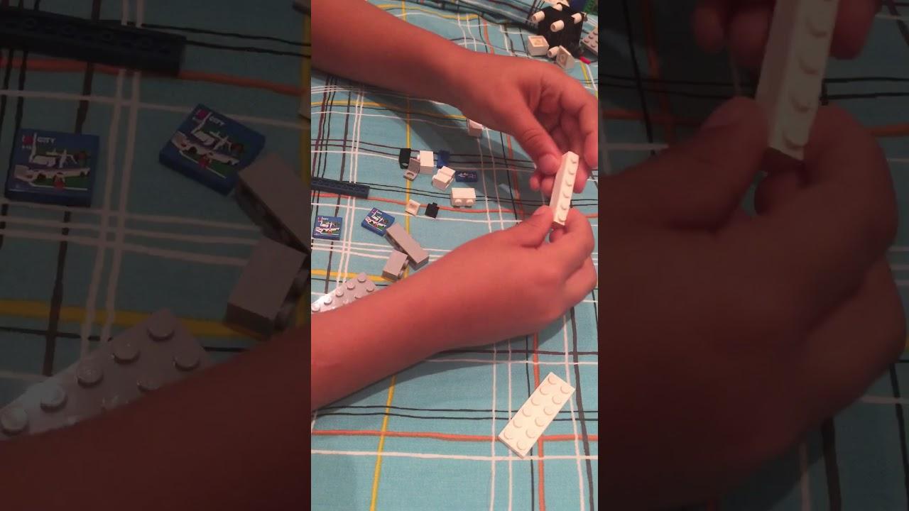 construire une tag re en lego youtube. Black Bedroom Furniture Sets. Home Design Ideas