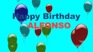 Alfonso - Card Tarjeta - Happy Birthday