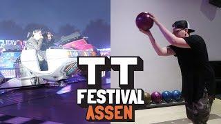 PRIJZEN WINNEN OP KERMIS & BOWLEN MET TRICKSHOTS - TT Festival Vlog