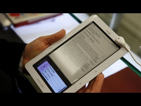 Microsoft Enters E-Book Fray Via Nook Investment