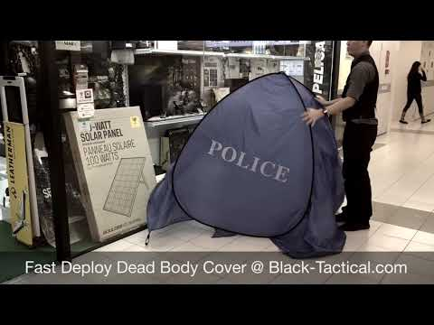 Fast Deploy Police Dead Body Cover