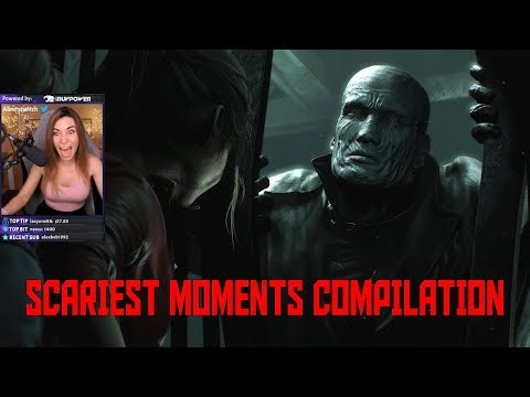 Resident Evil 2 scariest moments compilation