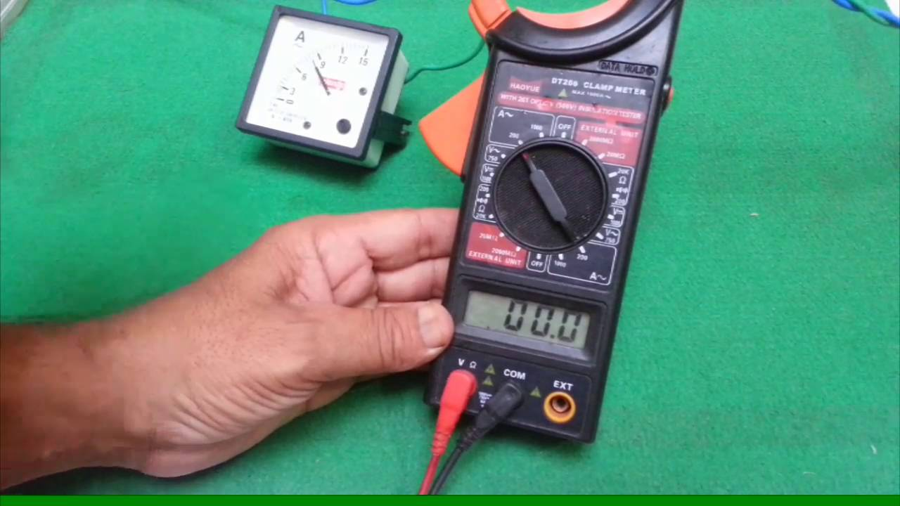 Using Digital Clamp Meter : How to use digital clamp meter with full details hindi