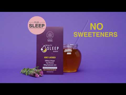 Beauty Sleep Water + Collagen | Honey Lavender | Harmony Proteins