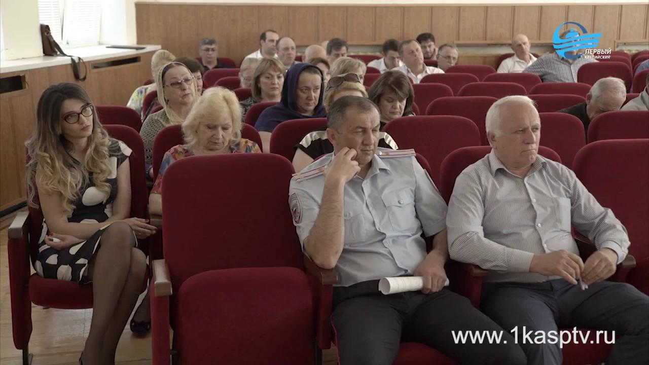 Обстановку в городе обсудили на аппаратном совещании в администрации Каспийска